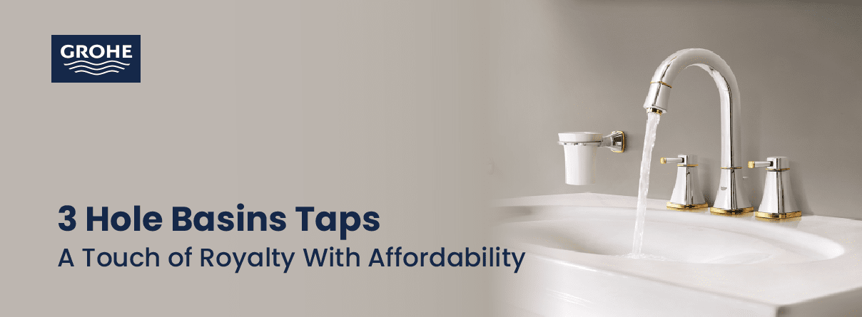 3-Hole Basin Taps from AXOR at xTWO