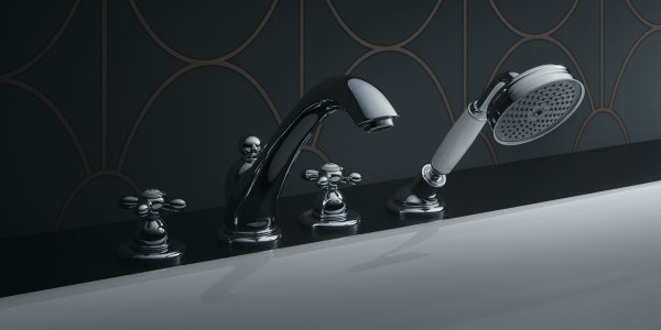 Axor Carlton four hole baths faucet
